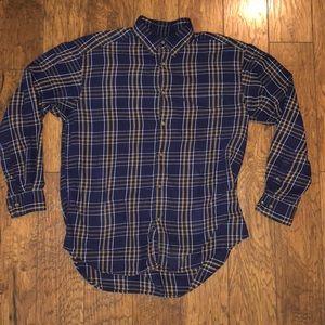 Men's longsleeve banana republic dress shirt